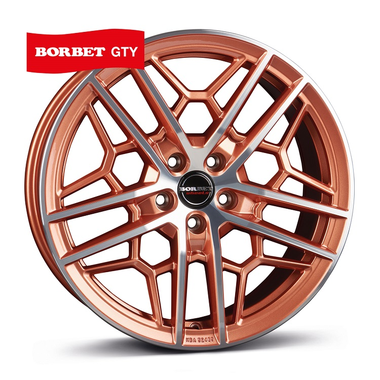 Borbet GTY copper polished