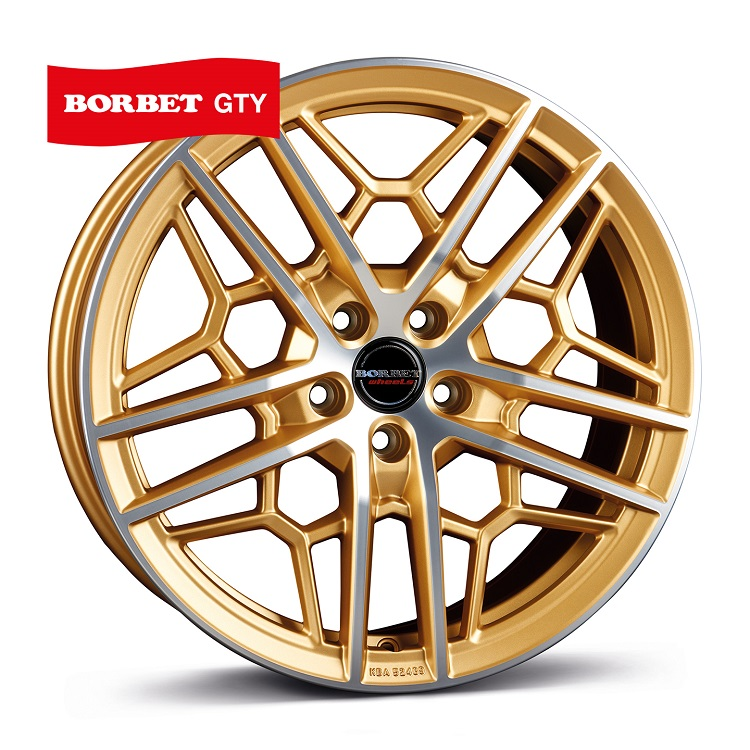 Borbet GTY gold polished