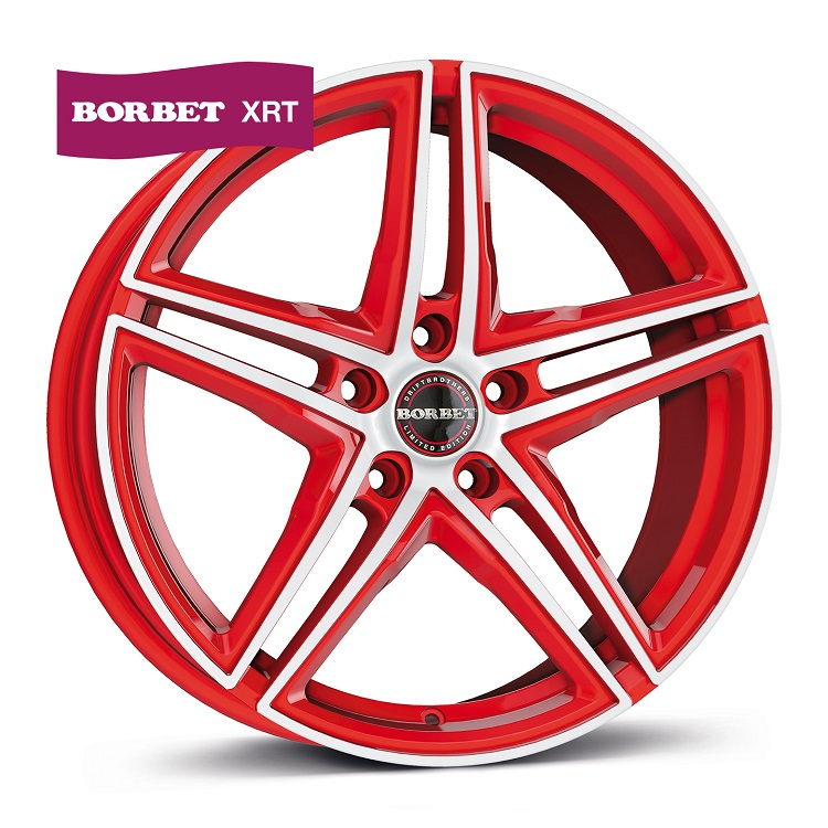 Borbet XRT red polished